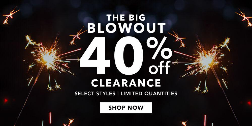 Major Savings 40% off select clearance jewelry