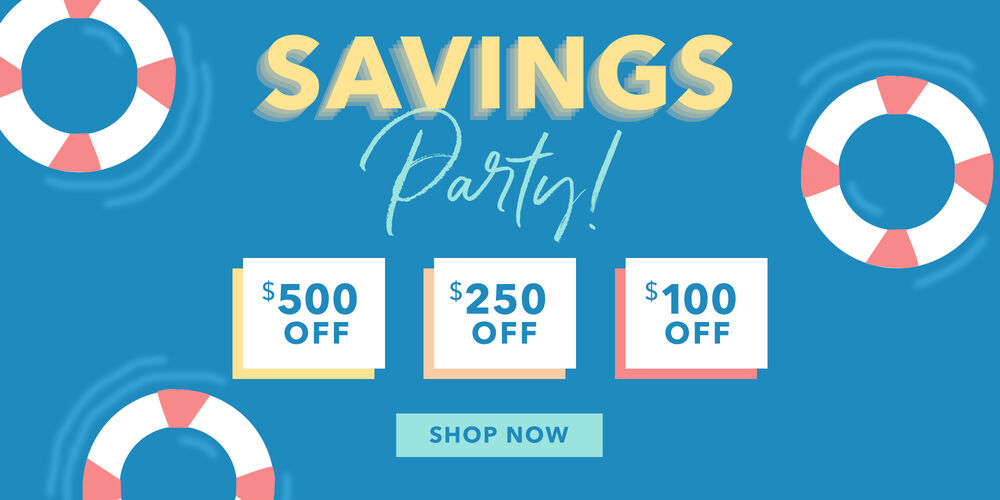 Up to $500 Off  Choose your savings, find a fave!