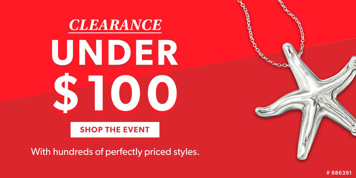 Clearance Under $100 Low prices on great finds