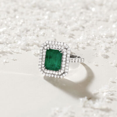Lux Gifts. Image Featuring Gemstone and Diamond Ring