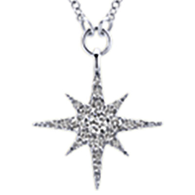 Gabriel. Image Featuring Sterling Silver Star Necklace