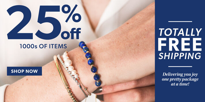 Summertime Savings 25% off + free shipping for you