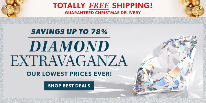 Deals on Diamonds Plus, free delivery by Christmas