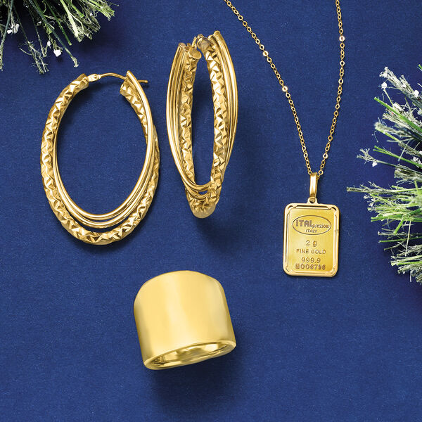 Ciao, bella! Shop Gold from Italy