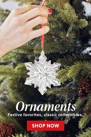 Ornaments. Festive Favorites, Classic Collectibles. Shop Now