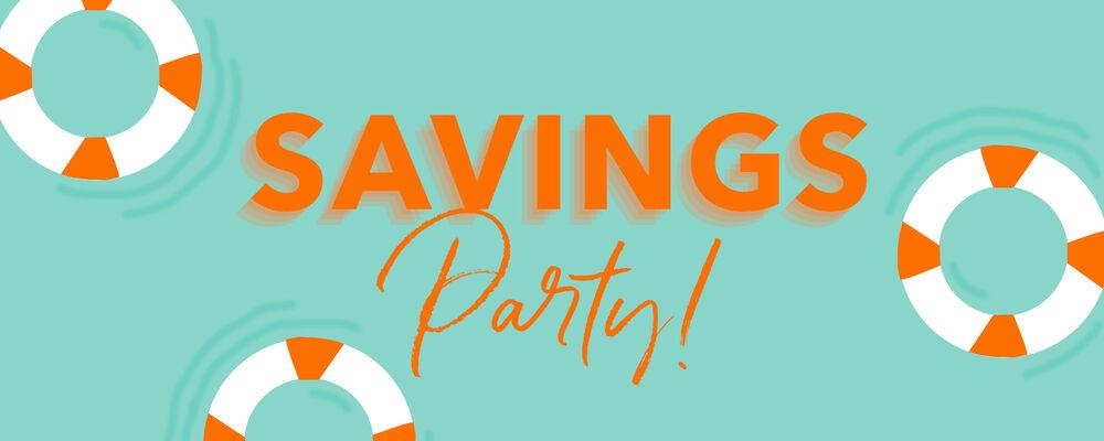 Summer Savings Party