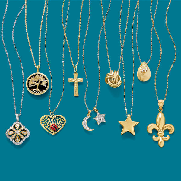 Inspire positivity. Shop Symbolic Pendants