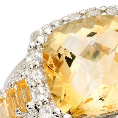 November - Citrine. Image Featuring Citrine Ring