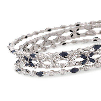 Gemstone Bangles. Image Featuring Gemstone Bangle Bracelet