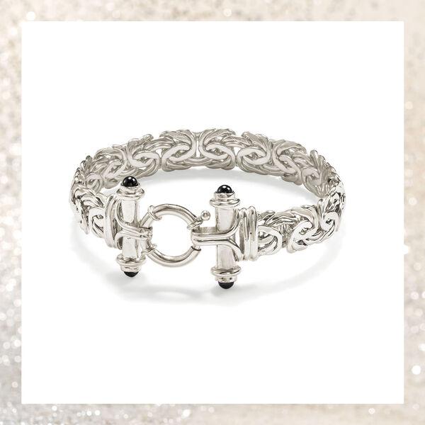 Sterling Silver Byzantine Bracelets