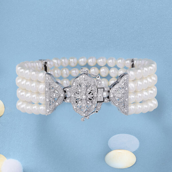 Pearl bracelets are a must-have! Shop Now