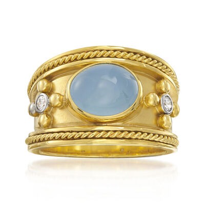 Mazza. Image Featuring Gold Gemstone Ring