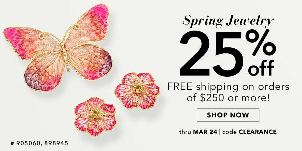 Garden Party 25% off fresh spring looks