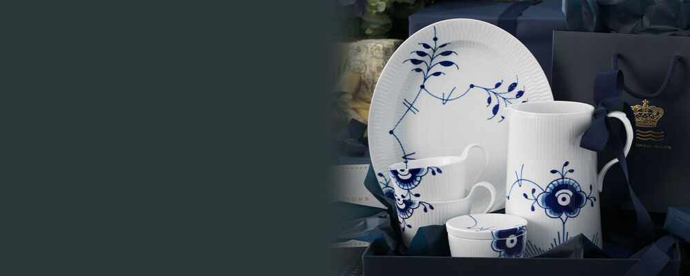Royal Copenhagen. Fine Home Décor. Image Featuring Assorted Porcelain Dinnerwear