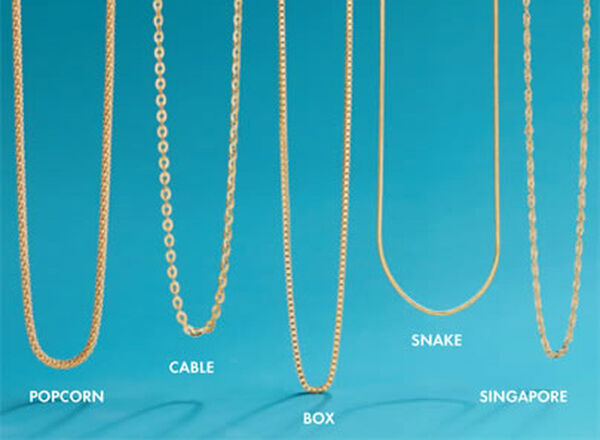 Types Of Chain Jewelry