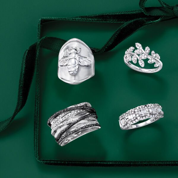 Rings in alluring sterling. Shop Now