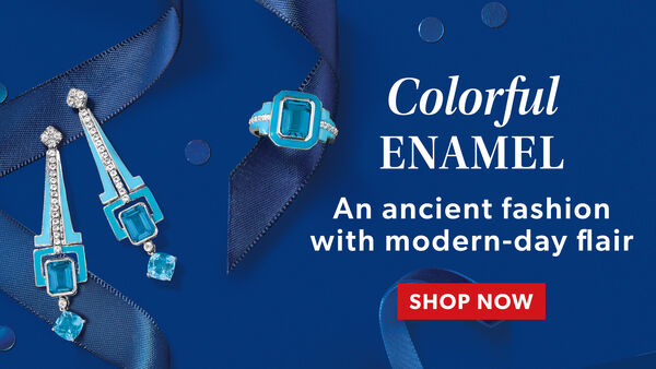 Colorful Enamel. An Ancient Fashion With Modern-Day Flair. Shop Now