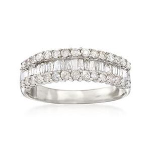 1.05 ct. t.w. Diamond Band Ring in Sterling Silver #791759