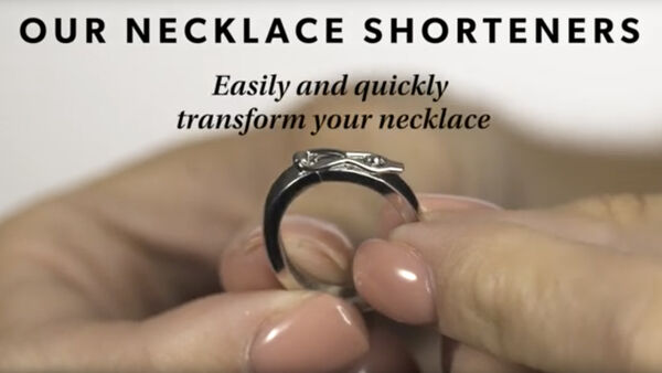 Necklace shortener YouTube video.
