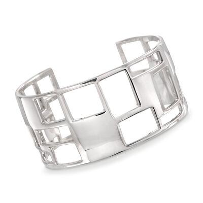 Zina. Image Featuring White Gold Bracelet
