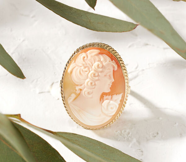 Artisanal Jewelry -- Discover cameos, lava stone and more. Cameo pictured.