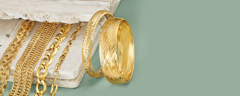 gold bracelets irresistible classics