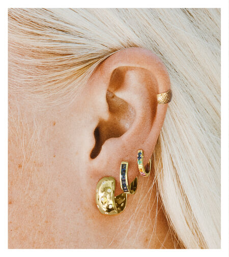 How To Layer Earrings