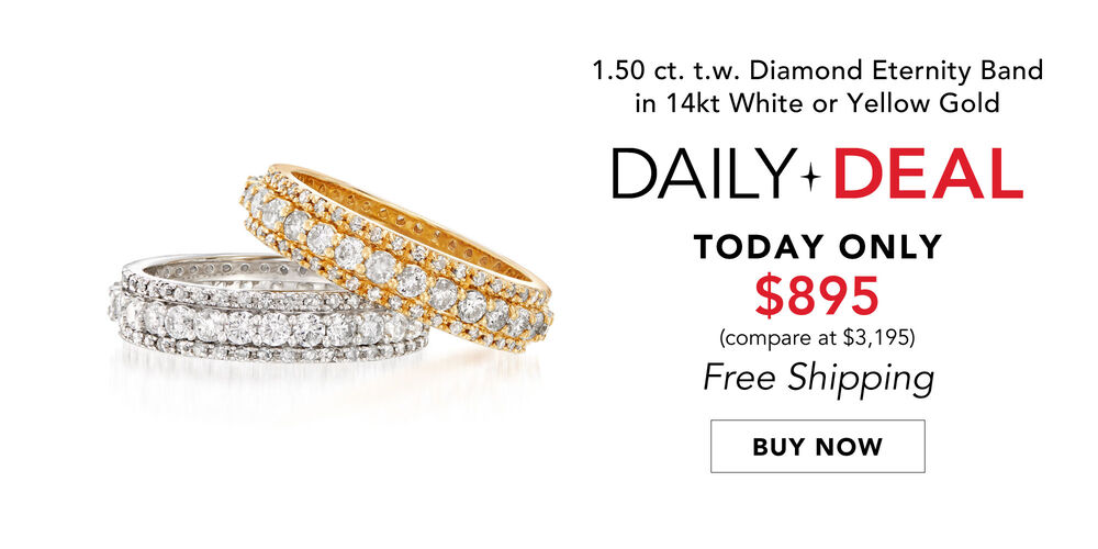Sparkling Daily Deal 1.50 ct. t.w. eternity band