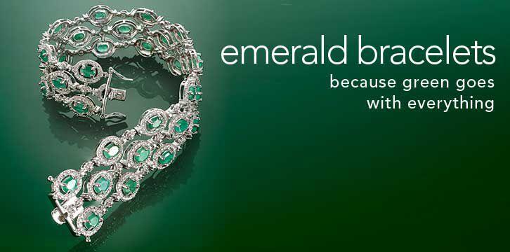 Emerald Bracelets Featuring: 470168