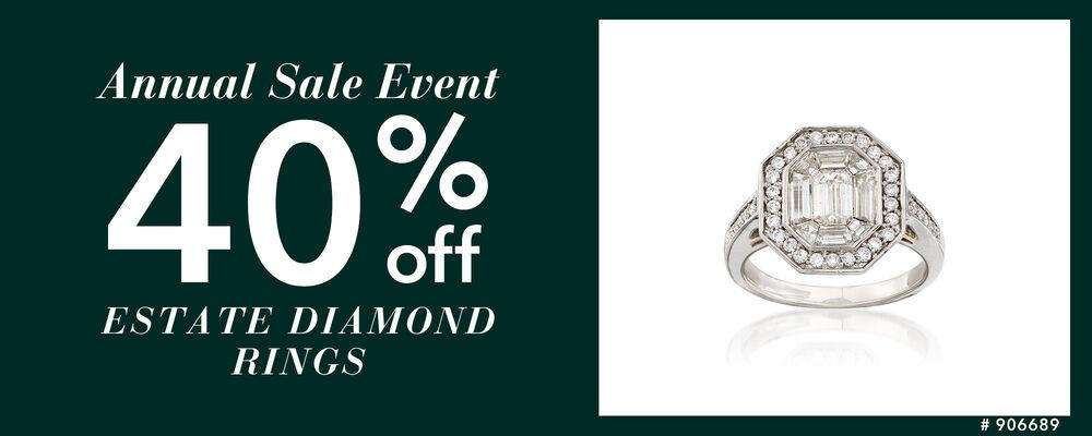 Estate Jewelry Sale