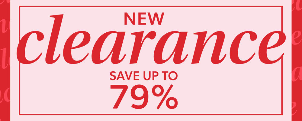 New Clearance - Save Up To 79%