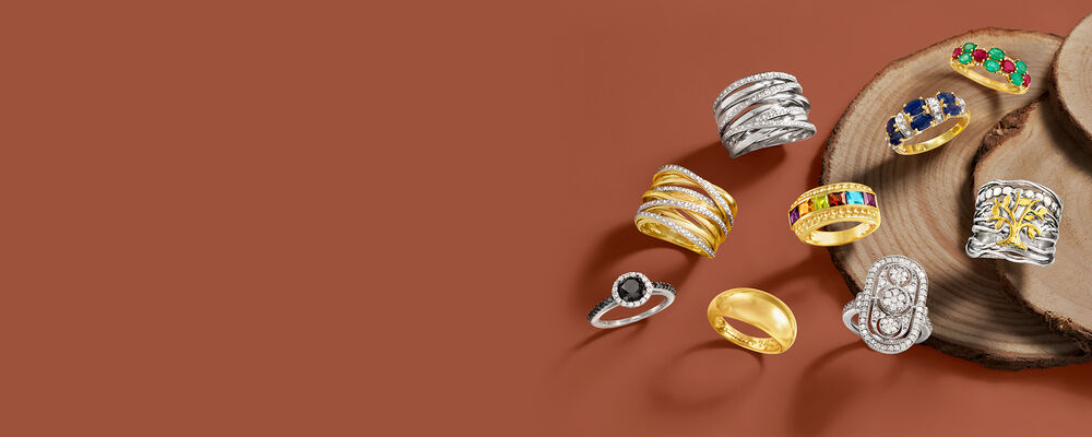 Rings. Collect Every Chic Style. Image Featuring an Assortemnt for Rings 790626, 790627, 908159, 559242, 920246, 922222, 931956, 931040, 930955