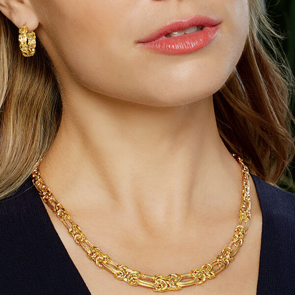 Gleaming and glamorous. Shop Gold Necklaces