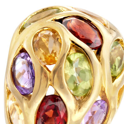 New Clearance. Image Featuring Multi-Gemstone Ring