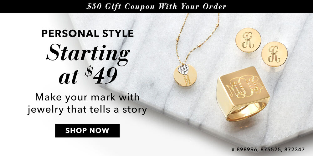 Make It Personal Order now, save $50 later!