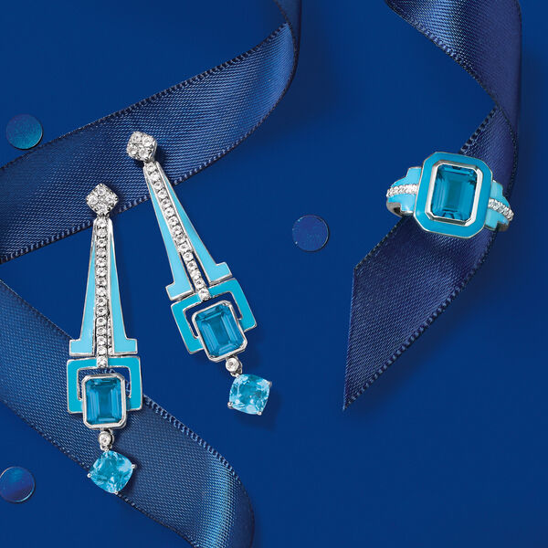 A shining duo! Shop Silver & Enamel