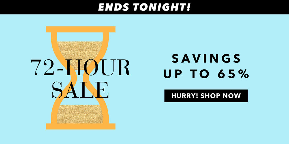 Ends Tonight! Save up to 65% now, $50 off later