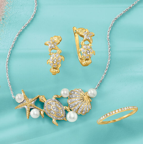 The sparkliest finds under the sea!