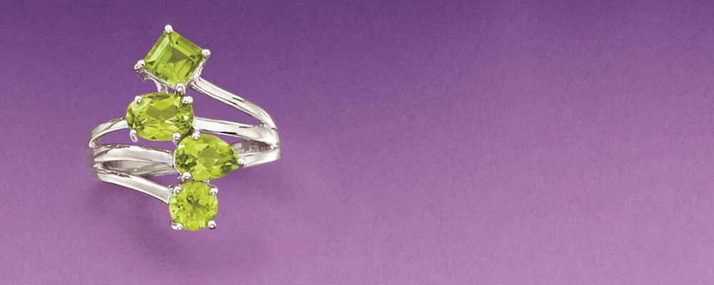 peridot jewelry is always style friendly