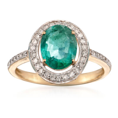May Emerald. Image Featuring Emerald Ring