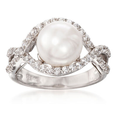 June Pearl. Image Featuring Pearl Ring
