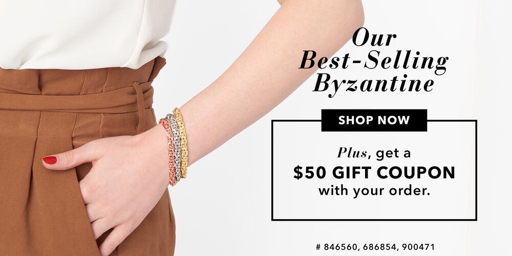 Best-Selling Byzantine  Get a $50 gift coupon for later!