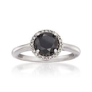 Black and White Diamond Ring #777885