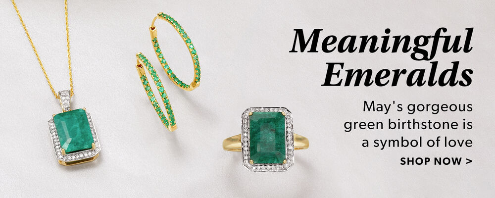 May's Gorgeous Green Birthstone