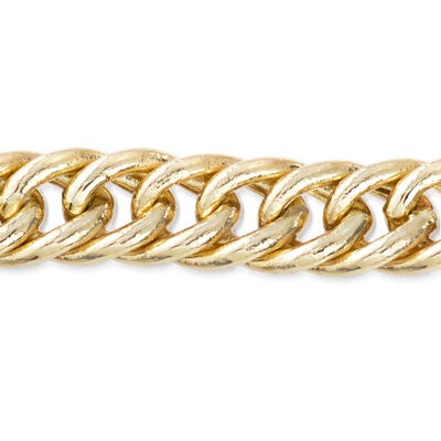 Curb Link Chain. Image Featuring Curb Link Chain