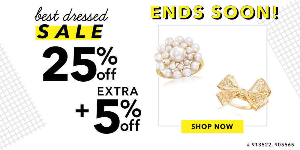 Ends Soon! 25% + extra 5% off at checkout