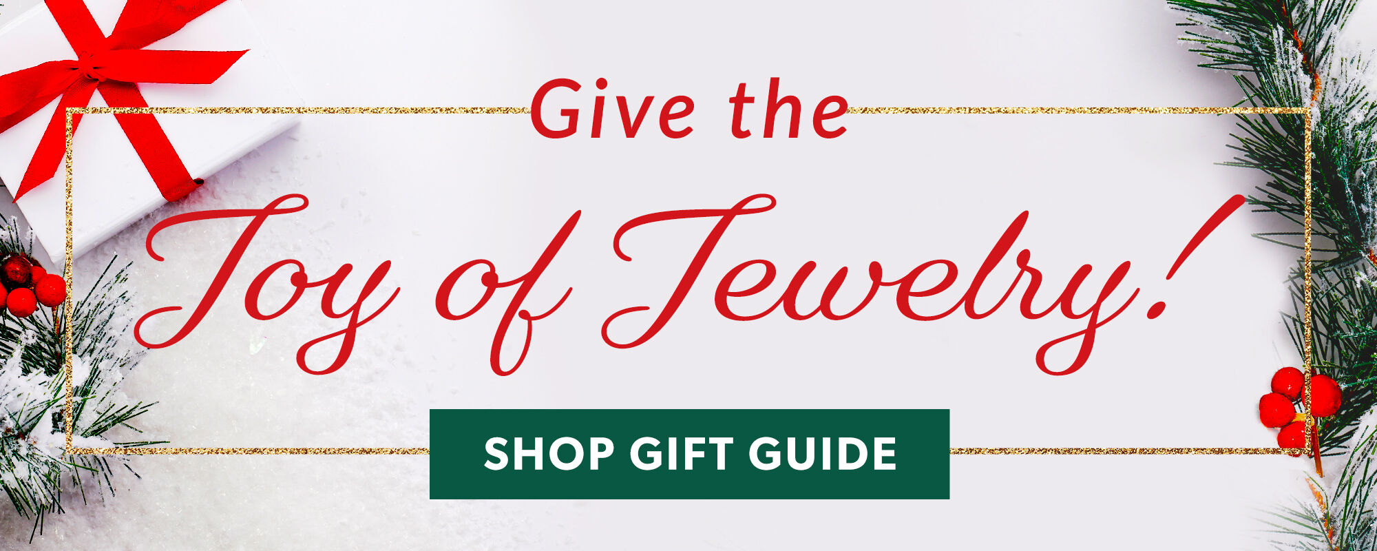 Give The Joy Of Jewelry! Shop The Gift Guide