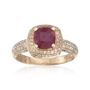 Ruby and Diamond Ring #782330