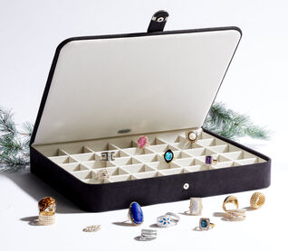 Storage Solutions. Keep Your Jewels Safe, Secure and Organized. Image Featuring A Jewelry Box