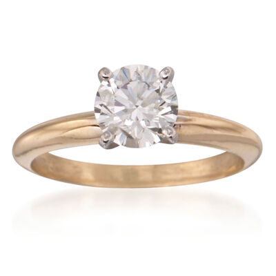 Diamond Solitaire Engagement Rings